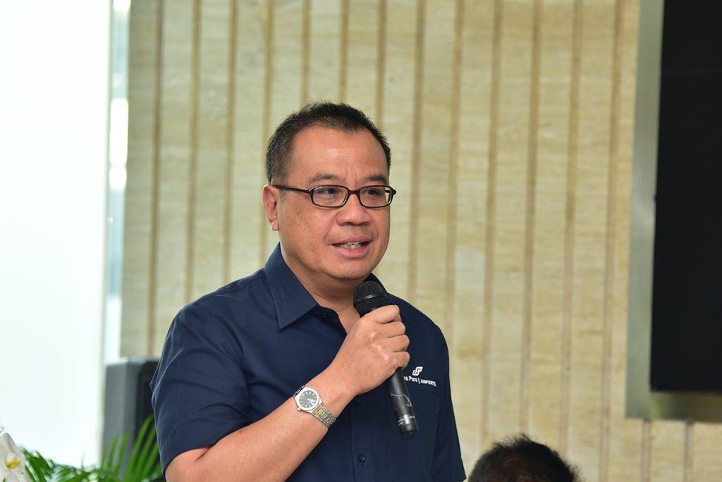 Direktur Utama Angkasa Pura 1, Faik Fahmi (Foto: Eka/Bumntrack)