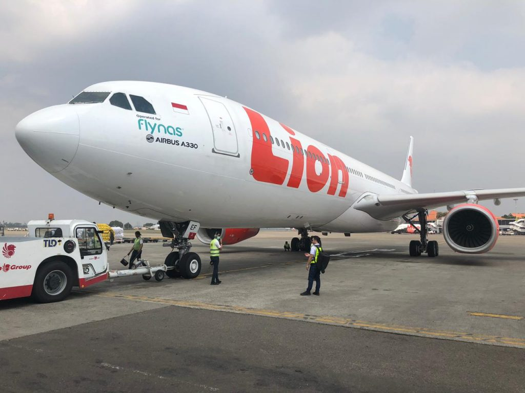 Lion Air Airbus 330-300 - 2