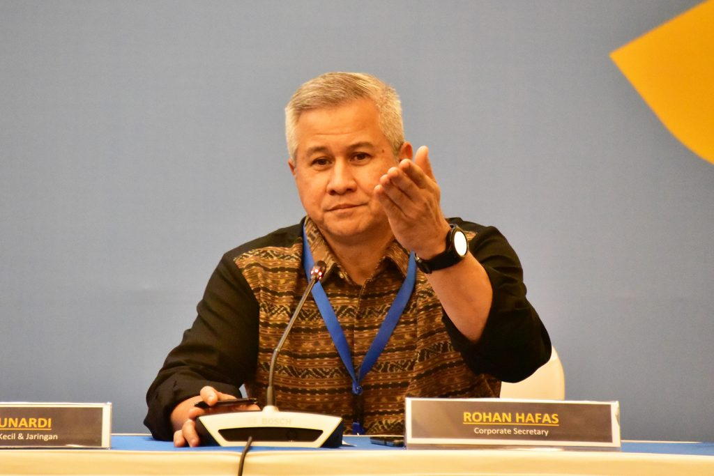 Rohan Hafas, Corporate Secretary Bank Mandiri