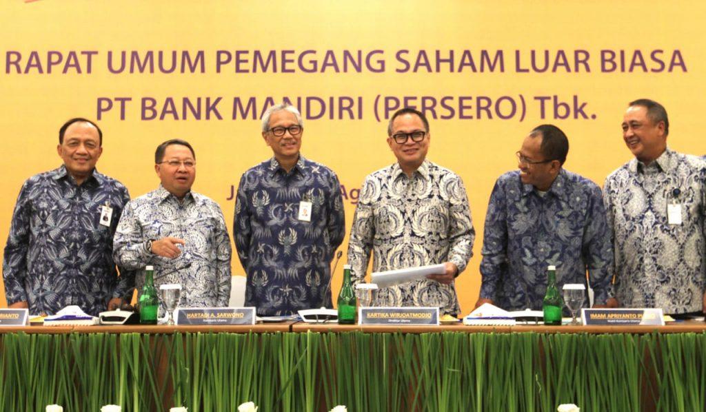 Rapat Umum Pemegang Saham Luar Biasa (RUPS LB) Bank Mandiri