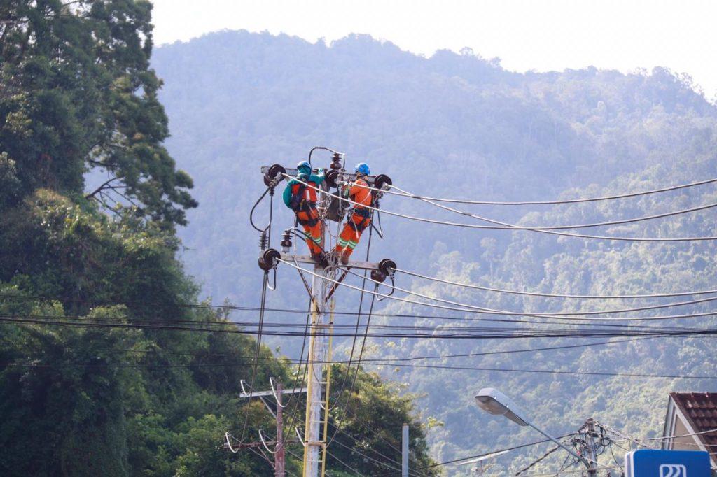 Listrik Di Jayapura Kembali Normal (Foto: Istimewa/Dok PLN)