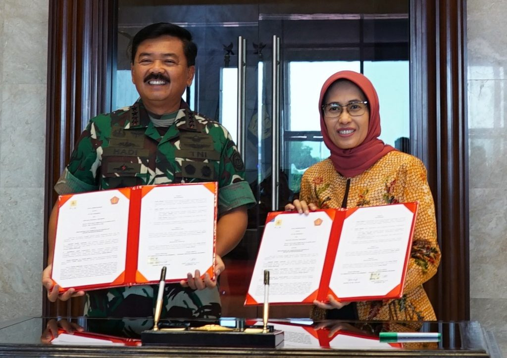 TNI-PLN Teken Mou Pengamanan dan Pemeliharaan Keandalan Sistem Ketenagalistrikan