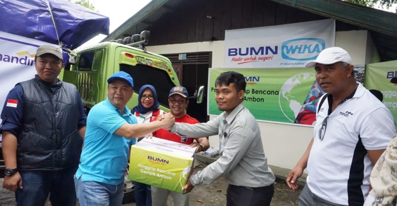 Photo of Tanggap Bencana Gempa Ambon, WIKA Inisiasi Pendirian Posko Induk BUMN