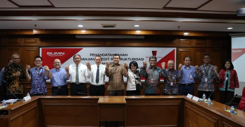 Photo of Transformasi Bisnis yang Sehat, Krakatau Steel Tandatangani Perjanjian Kredit Restrukturisasi