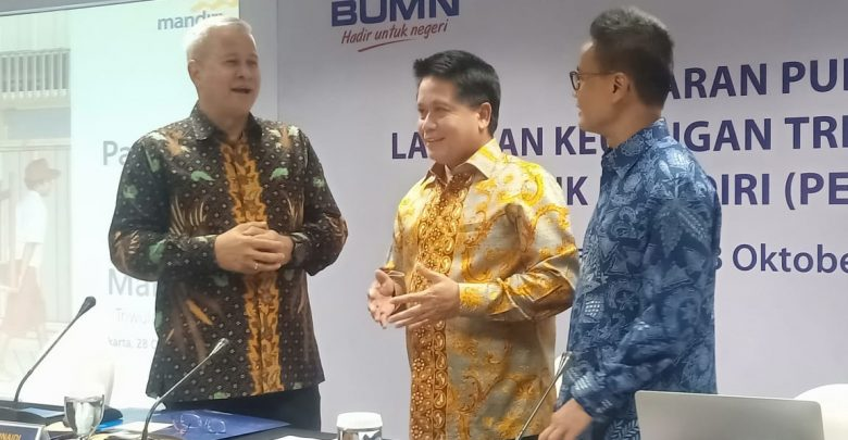 Photo of Triwulan III/2019, Bank Mandiri Bukukan laba Rp20,3 Triliun