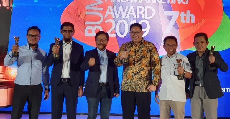 "Photo of Pelindo IV Boyong Tiga Penghargaan di Ajang ""BUMN Branding and Marketing Award 2019"""