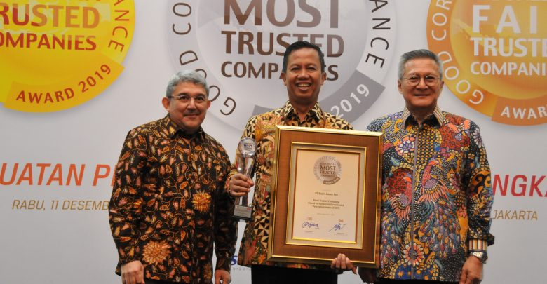 Photo of PTBA Raih Indonesia Most Trusted Companies dan Asia's Most Trusted Coal Mining Company