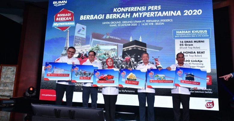 Photo of Berbagi Berkah MyPertamina 2020, Pertamina Tebar Hadiah Milyaran Rupiah