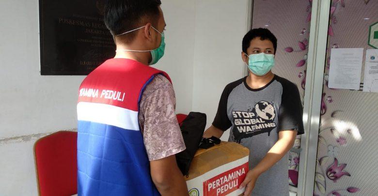Photo of Bersama Petugas Medis Lawan Corona, Pertamina Salurkan 22.000 Masker