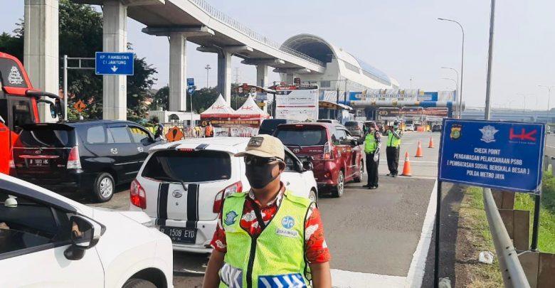 Photo of Hutama Karya: Kendaraan Melanggar PSBB di Tol JORR-S Turun Drastis