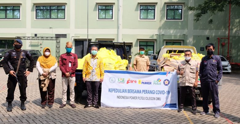 Photo of Lawan Covid-19, Indonesia Power Sumbang APD, Masker dan Sembako