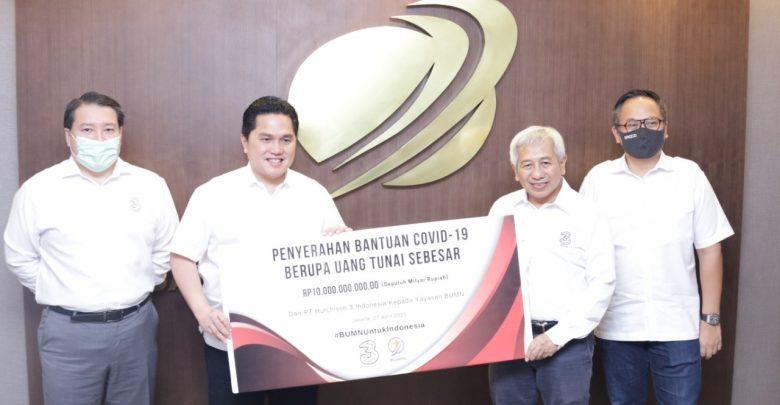 Photo of Yayasan BUMN Untuk Indonesia Terima Bantuan dari Donatur
