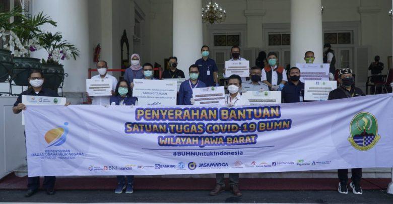Photo of Satgas Covid-19 BUMN JaBar Salurkan APD dan Alat Kesehatan ke 120 Rumah Sakit