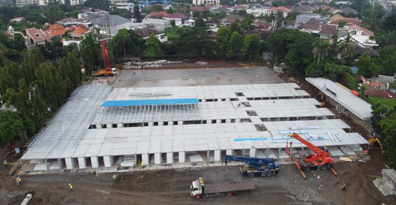 Photo of Pertamina Sulap Lapangan Bola Jadi Rumah Sakit Darurat Covid 19