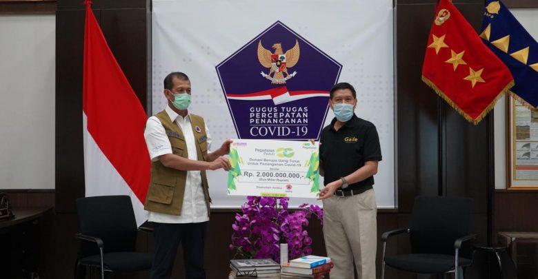 Photo of Penanganan Covid-19, Gugus Tugas Terima Donasi Rp2 Miliar dari Pegadaian