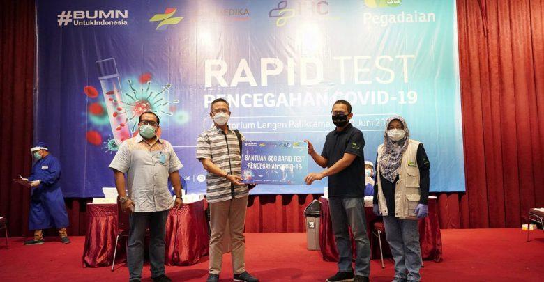 Photo of Antisipasi New Normal, PT Pegadaian Gelar Rapid Test Gratis