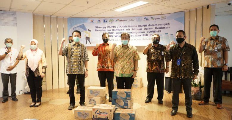 Photo of Jasa Tirta II Bersama 11 BUMN Bantu Air Minum di RS Darurat COVID-19