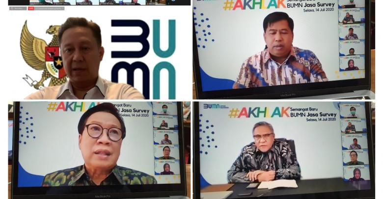 Photo of Dirut BKI, Sucofindo, Surveyor Indonesia Sinergi Gaungkan Akhlak di Perusahaan