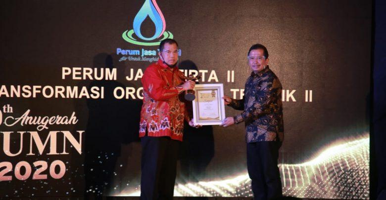 Photo of Jasa Tirta II Raih Tranformasi Organisasi Terbaik dalam Anugerah BUMN 2020