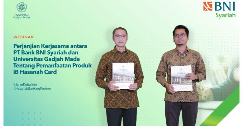 Photo of BNI Syariah-UGM Teken PKS Pemanfaatan Kartu Pembiayaan BNI iB Hasanah Card