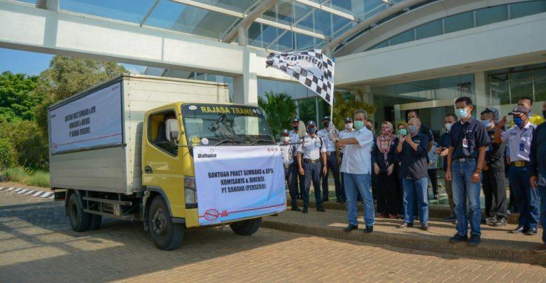 Photo of Dahana Bagikan Bantuan Sembako dan APD di Subang dan Jakarta