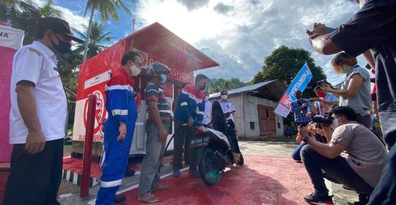 Photo of Pertashop Pertama di Pulau Sulawesi Resmi Beroperasi