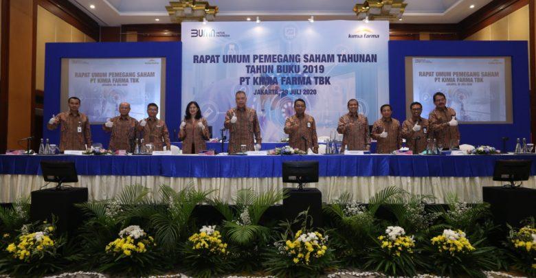 Photo of RUPS Kimia Farma Rombak Jajaran Komisaris