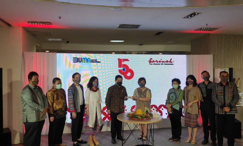 Photo of Sarinah Gerbong UMKM, Erick Thohir: Hotel Indonesia Tidak Menggunakan Produk Sarinah, Lapor Saya