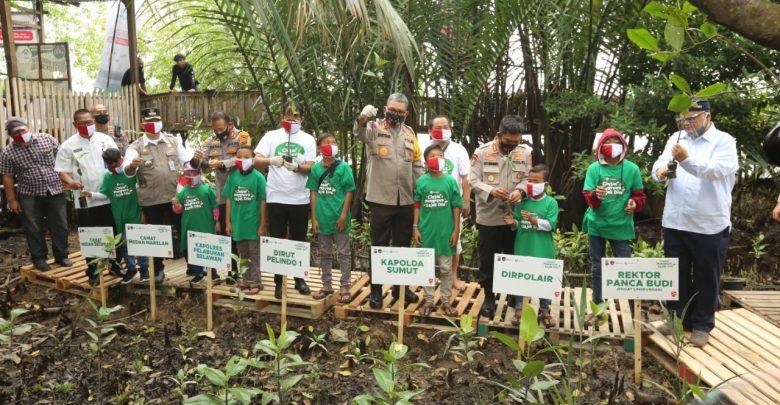 Photo of Sambut HUT ke-75 RI, Pelindo 1 Tanam 2020 Mangrove