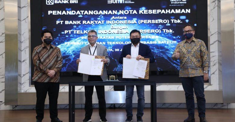 Photo of BRI-Telkom Kolaborasi Tingkatkan Layanan Satelit