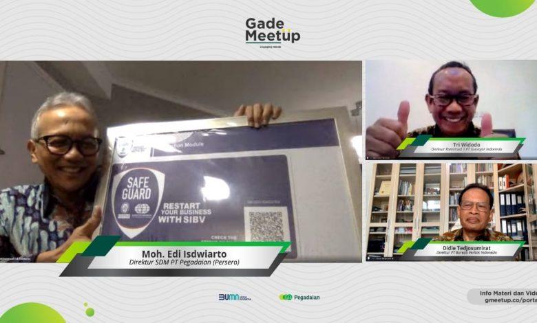 Photo of Surveyor Indonesia-BV Serahkan Label SIBV Safe Guard kepada Pegadaian