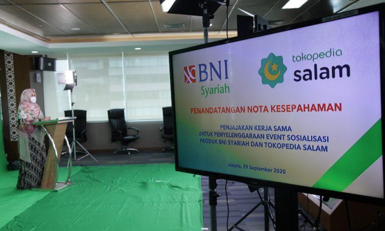 Photo of Gandeng Tokopedia, BNI Syariah Kembangkan Ekosistem Industri Halal