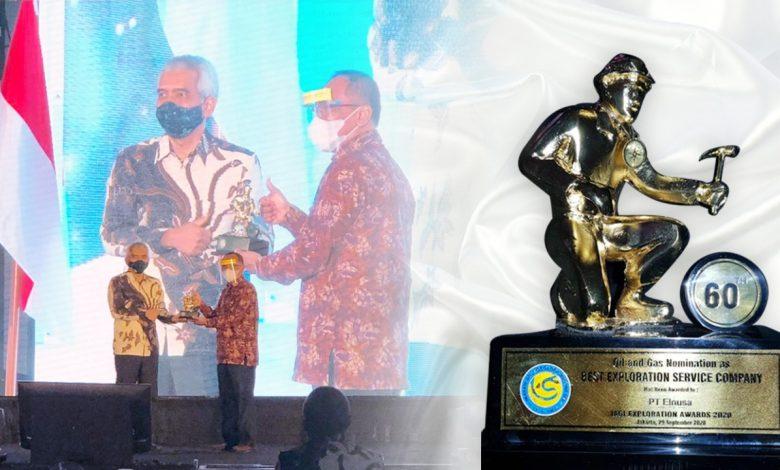 Photo of Elnusa Raih Penghargaan Best Oil & Gas Exploration Services Company di Ajang IAGI