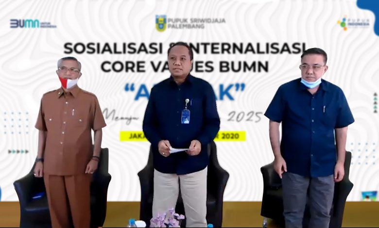 Photo of Pusri Internalisasi AKHLAK dalam Transformasi Perusahaan Menuju Pusri Jaya 2025