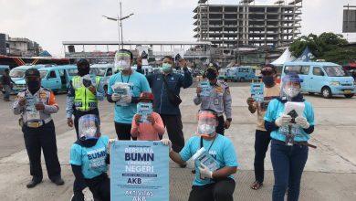 Photo of Sosialisasi Adaptasi Kebiasaan Baru, Indra Karya Bagikan 45.000 Masker Gratis