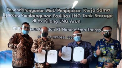 Photo of Ekspansi Business LNG, Perta Arun Gas Teken MoU dengan Natuna Eton Energi