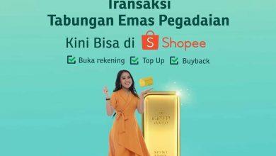 Photo of Pegadaian Gandeng Shopee, Perluas Akses Tabungan Emas