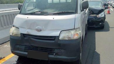 Photo of Sehari Dua Kali Kecelakaan Beruntun, Pengguna Jalan Diimbau Antisipasi Jarak Antar Kendaraan
