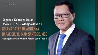 Photo of Menteri BUMN Tetapkan Imam Santoso Dirut Baru Jasa Tirta II