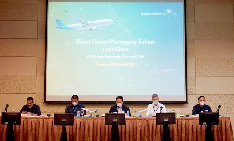 Photo of RUPSLB Garuda Indonesia Setujui Penerbitan Obligasi Wajib Konversi