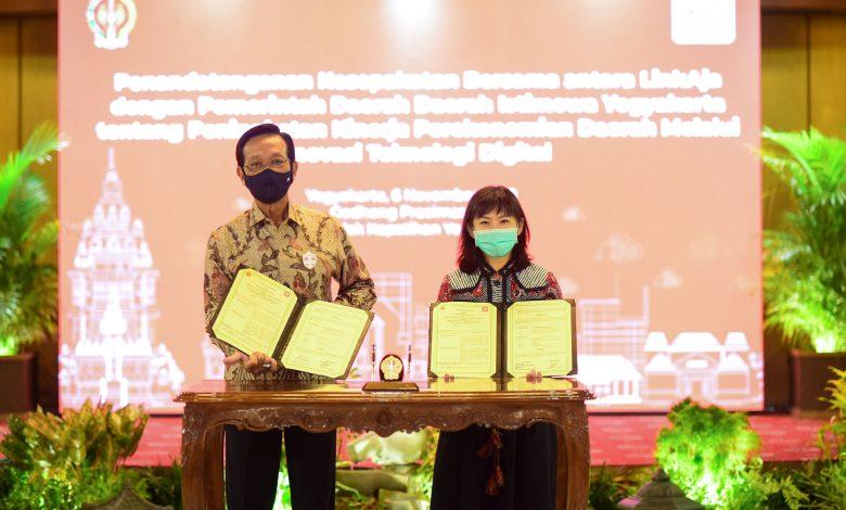 Photo of LinkAja-Pemda Jogja Hadirkan Kemudahan dan Keamanan Transaksi Digital di Enam Sektor