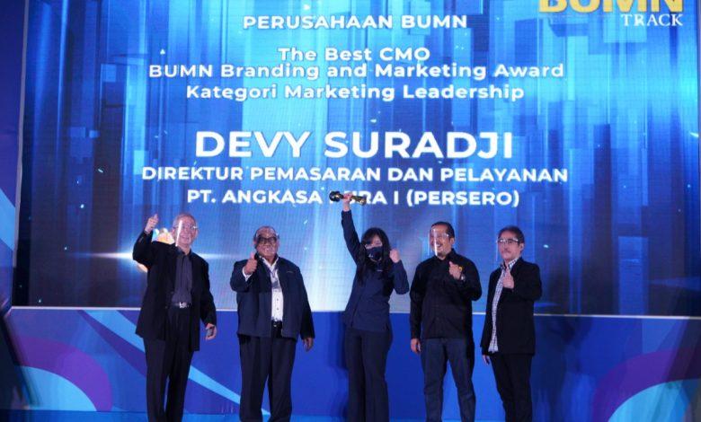 Photo of Optimalisasi Omni Channel, Angkasa Pura I Raih Tiga Penghargaan dalam Ajang 'BUMN Branding & Marketing Award 2020'