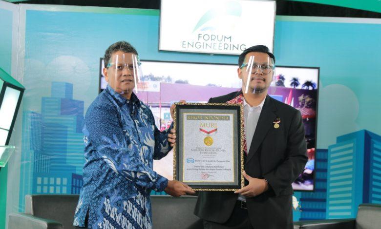 Photo of Forum Engineering ke-11 WIKA, Raih Rekor MURI Lokakarya Keteknikan Terlama dengan Peserta Terbanyak