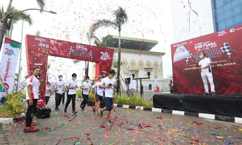 Photo of Hidup Sehat, Pelindo I Gelar Flag Off Run & Ride 2020