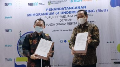 Photo of Optimalisasi Aset, Pusri Teken MoU dengan PT BGR Logistics