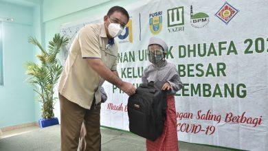 Photo of Jelang HUT ke-61, Pusri Berbagi Berkah kepada 1.500 Anak Yatim dan Khitanan Massal