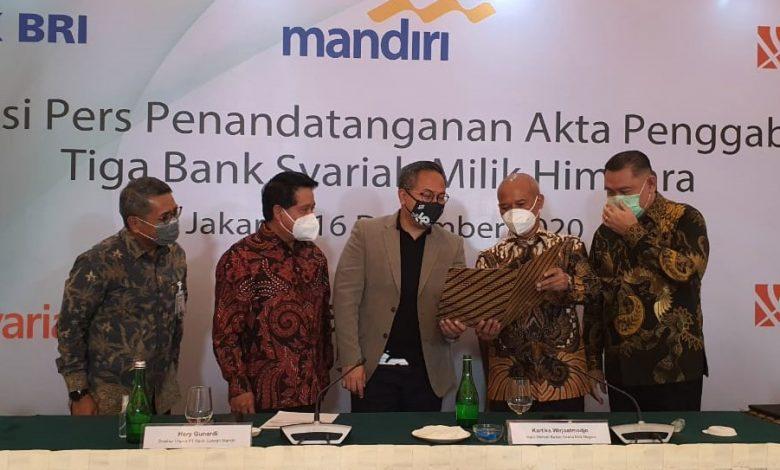 Photo of Ini Jajaran Direksi Hasil Penggabungan Tiga Bank Syariah BUMN