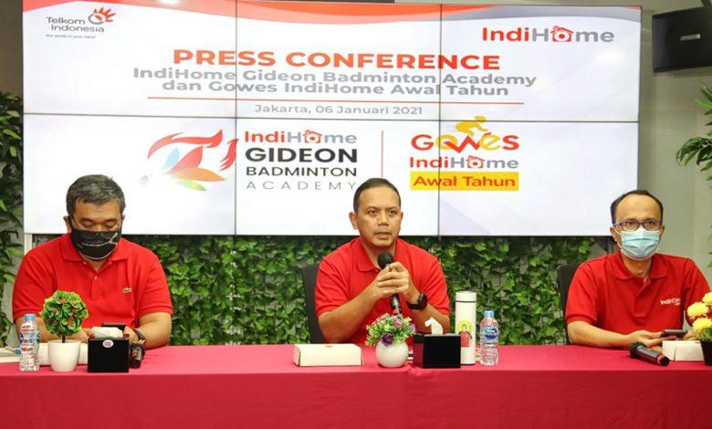Photo of Telkom Indihome Regional II Berikan Beasiswa Pelatihan Bulu Tangkis