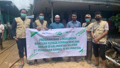 Photo of Pegadaian Salurkan Bantuan Kepada Masyarakat Terdampak Banjir di Kalsel