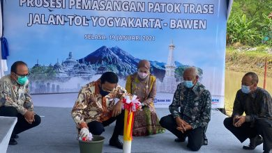 Photo of Jalan Tol Yogyakarta-Bawen Dimulai, Jasa Marga Targetkan Konstruksi Di Agustus 2021